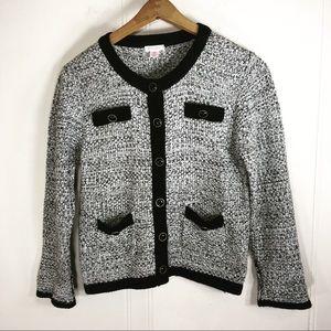 Xhilaration Retro Medium Cardigan Sweater